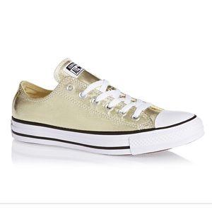 Converse Shoes   Womens Gold Converse